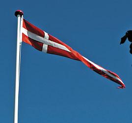 Nice Værd at vide om flag og flagregler - Dano Mast Flagstang II55